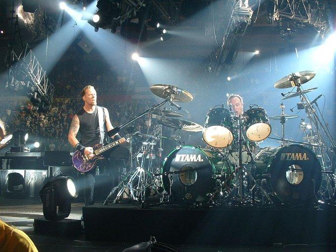 Metallica sur scène