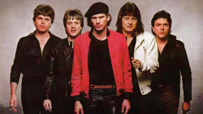 Les membres du groupe à leurs débuts