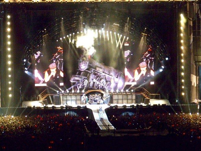 AC/DC sur scène
