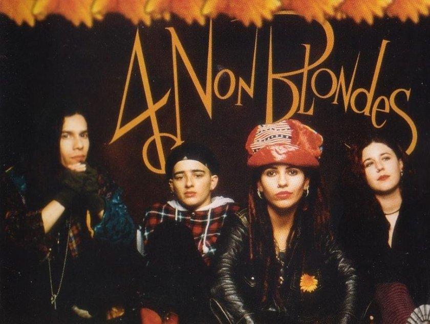 Les membres du groupe 4 Non Blondes