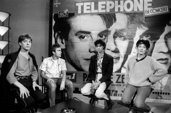Le groupe Telephone dans les années 80