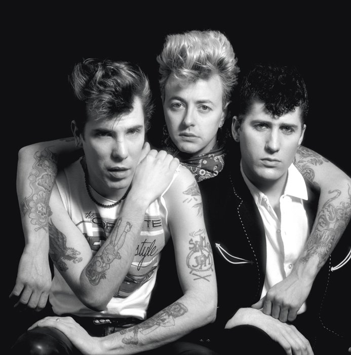Le trio The Stray Cats