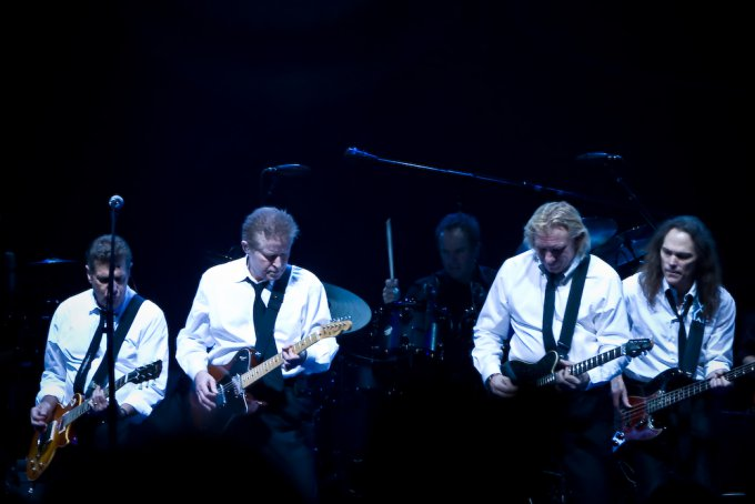 Les membres du groupe The Eagles