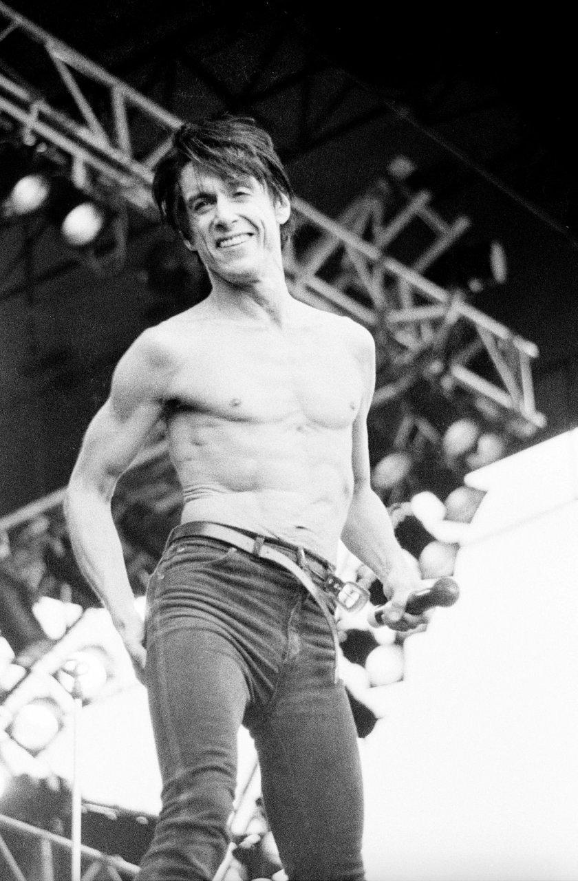 Iggy Pop sur scène