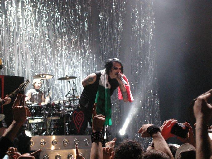 Marilyn Manson sur scène