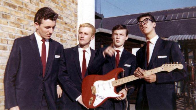 The shadows dans les années 1960