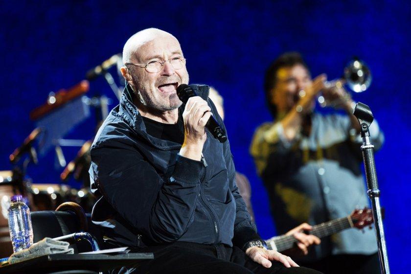Phil Collins en coucert