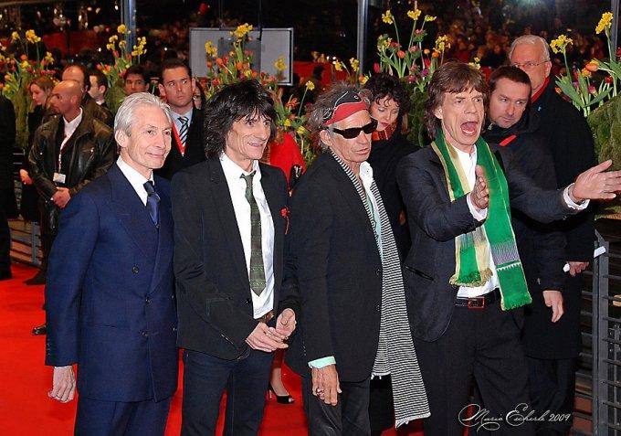 Les Rolling Stones en 2008 à Berlin