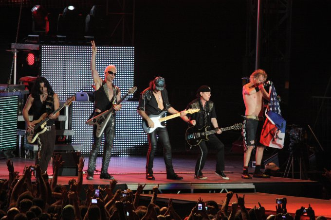 Scorpions Band Tour Uk