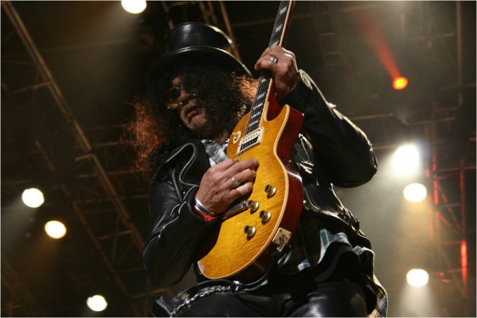 Slash et sa Gibson Les Paul 59
