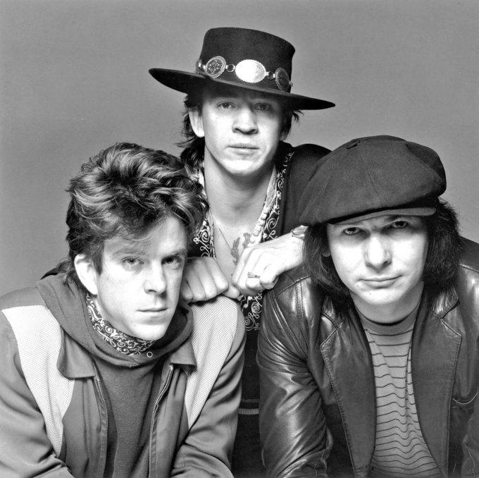 Les membres du groupe de Stevie Ray Vaughan