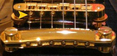 """Chevalets de type """"Tune-O-Matic ou Gotoh (Gibson)"""