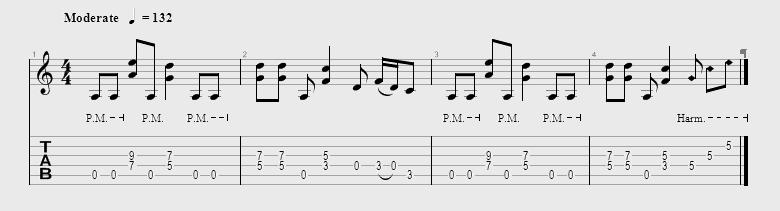 Partition de la chanson Piece Of Your Action du groupe Motley Crue