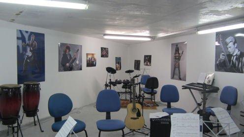 La salle de cours à Vélizy