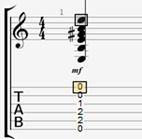 Les notes de musique : une noire