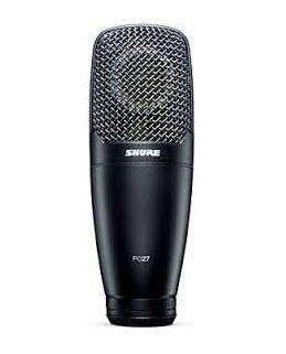 Le microphone PG27 de Shure