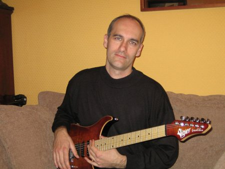 Nicolas, professeur de guitare électrique
